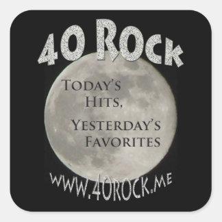 40 Rock Me Stickers