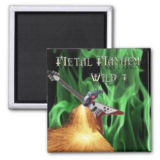 40 Rock Metal Mayhem Show Magnet