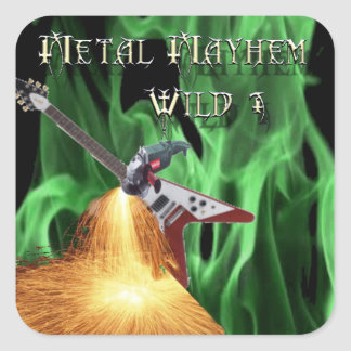 40 Rock Metal Mayhem Show Stickers