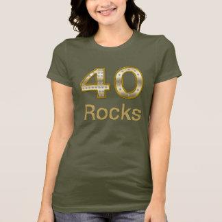 40 Rocks Bling T-Shirt