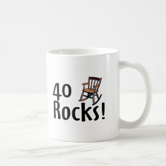 40 Rocks Coffee Mug