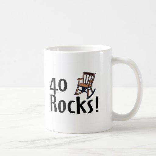 40 Rocks Coffee Mug