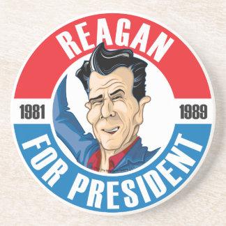 #40 Ronald Reagan Campaign Coaster