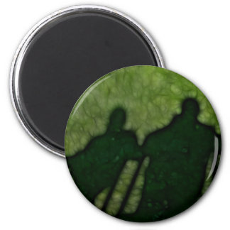 40 - Shadow People 2 Inch Round Magnet