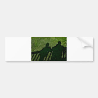 40 - Shadow People Bumper Stickers