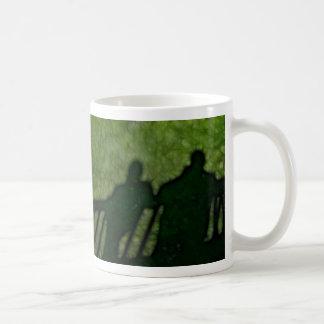 40 - Shadow People Classic White Coffee Mug
