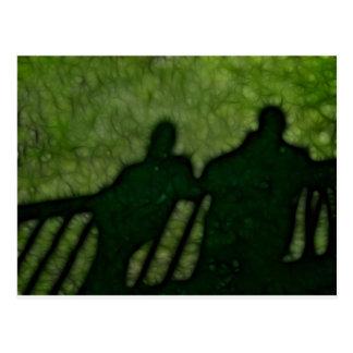 40 - Shadow People Postcard