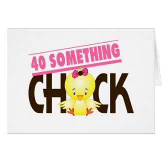 40-Something Chick 1 Card