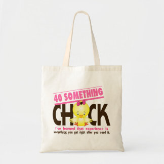 40-Something Chick 2 Canvas Bags