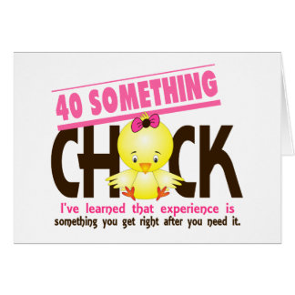 40-Something Chick 2 Card