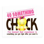 40-Something Chick 2 Postcard
