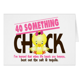 40-Something Chick 4 Cards