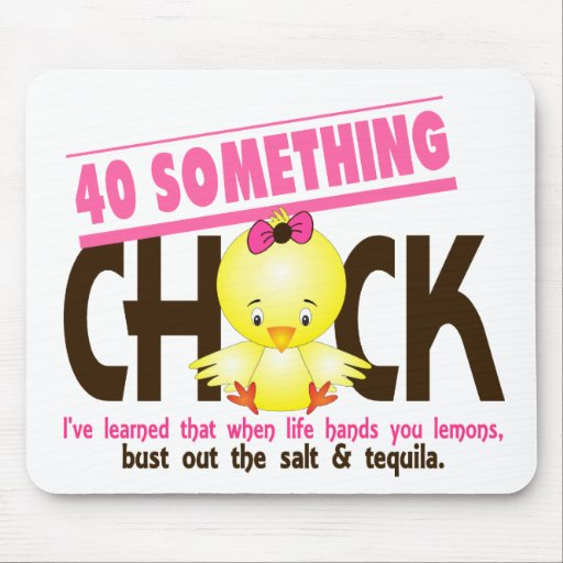 40-Something Chick 4 Mouse Pad