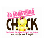40-Something Chick 4 Post Cards