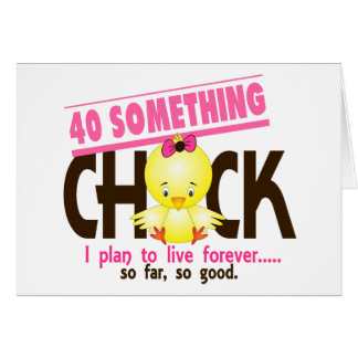 40-Something Chick 5 Greeting Cards