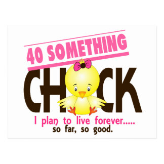 40-Something Chick 5 Postcards