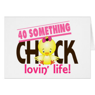 40-Something Chick 6 Greeting Card
