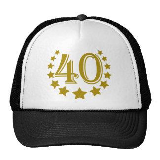 40 stars-Birthday.png Gorros Bordados
