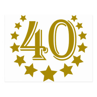 40-stars-Birthday.png Postcard