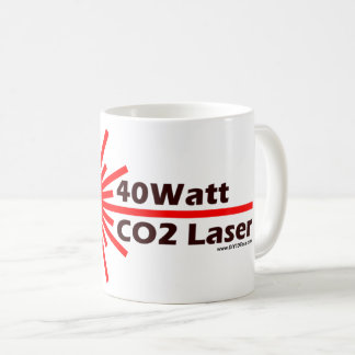 40 Watt CO2 Laser Coffee Mug! Coffee Mug