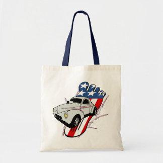 40 Willys Gasser USA Swap Meet Canvas Bags
