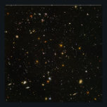 "40&quot;x40&quot; (max) HUDF Hubble Ultra Deep Field Poster<br><div class=""desc"">This is a beautiful, awe-inspiring, full-resolution version of NASA&#39;s Hubble Ultra Deep Field (HUDF) telescope image, including hundreds of distant stars and galaxies ready for a 40&quot;x40&quot; print. Details: 6200x6200 (109MB) TIFF file from NASA converted with Adobe Photoshop, using a light (0.1) de-noise filter, and saved as a JPEG (Q...</div>"