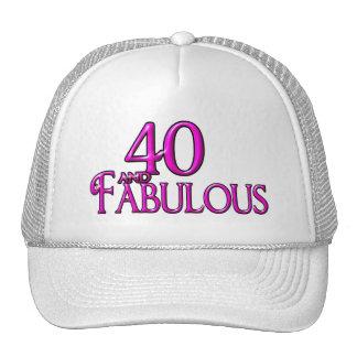 40 y fabuloso gorro de camionero