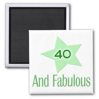 40 y fabuloso imanes