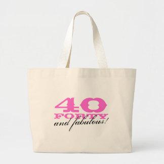 40 y la bolsa de asas fabulosa para el