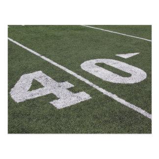 40 Yard Line Post Card