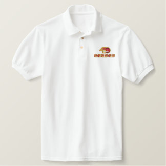 40 Year Anniversary Logo Embroidered Polo Shirt