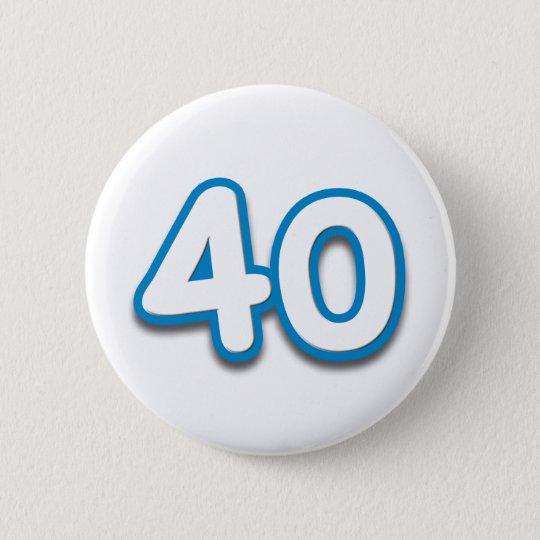 40 Year Birthday or Anniversary - Add Text Button