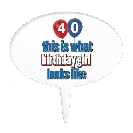 40 years old 40th birthday cake toppers 40 years old 40th for 40 year old birthday decoration ideas