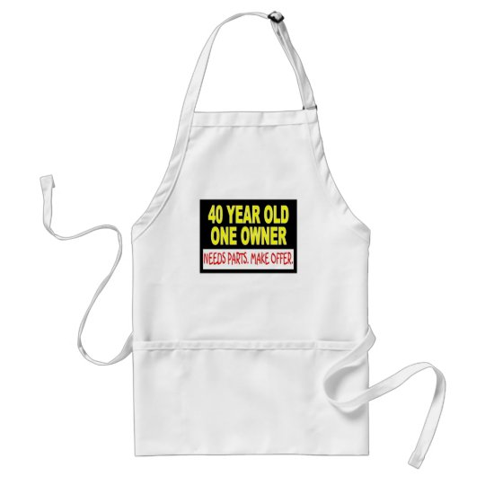 40 Year Old One Owner Needs Parts Make Offer Adult Apron