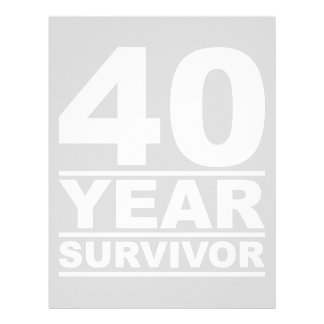 40 year survivor letterhead