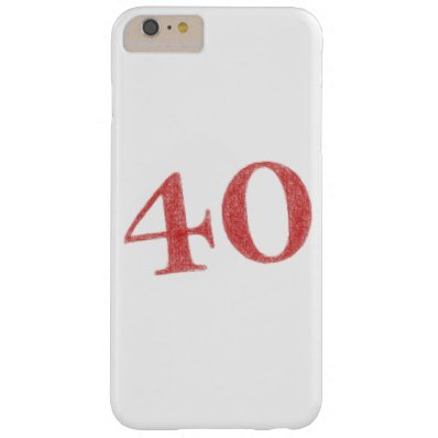 40 years anniversary barely there iPhone 6 plus case