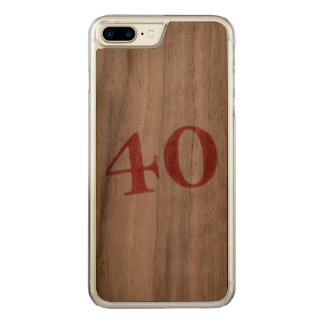 40 years anniversary carved iPhone 7 plus case