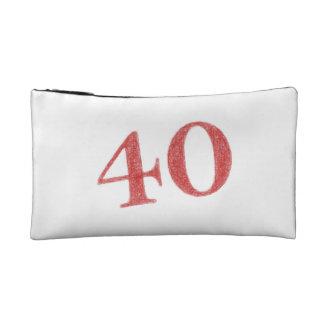 40 years anniversary cosmetic bag