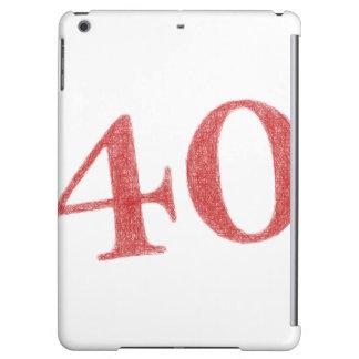 40 years anniversary iPad air case