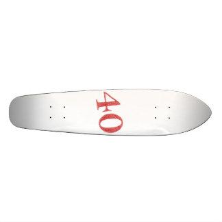 40 years anniversary skateboard