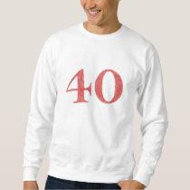 40 years anniversary sweatshirt