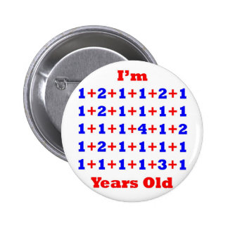 40 Years old! Button
