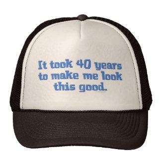 40 Years Old Trucker Hat