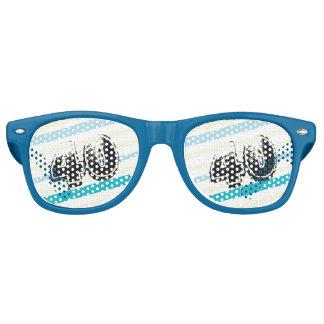 40 yr Bday Striped 40th Birthday Retro Sunglasses