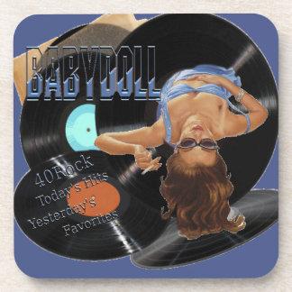 40Rock Babydoll Coasters