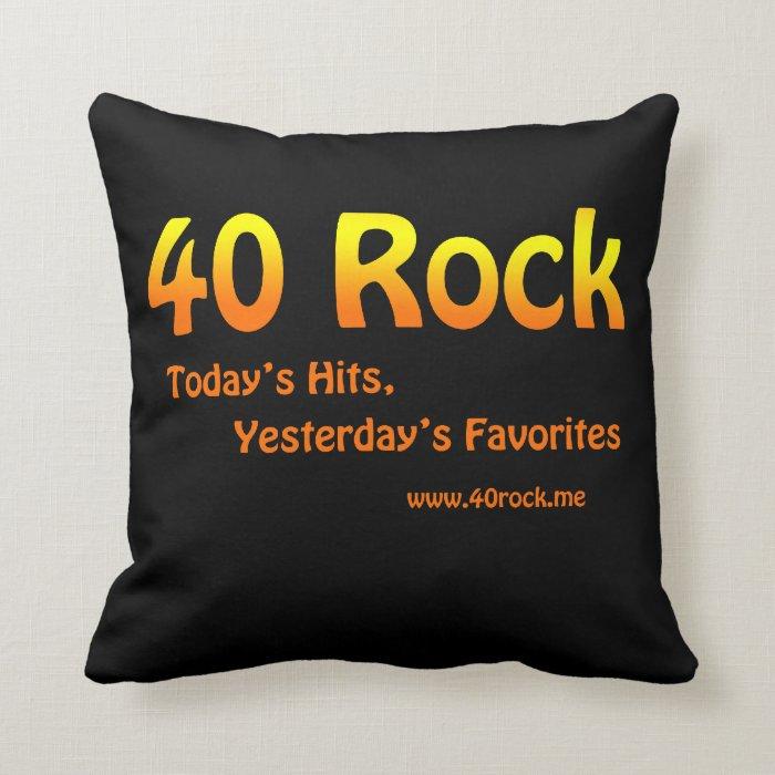40Rock Pillow