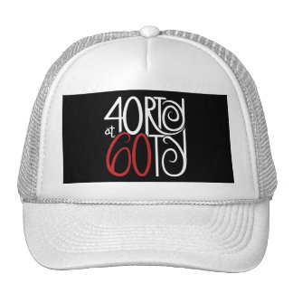 40rty at 60 Hat