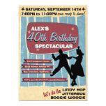 40s Swing Dance Party Invitation