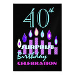 40th - 49th SURPRISE Birthday Party Invitation