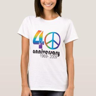 40th Anniversary 1969-2009 T-Shirt